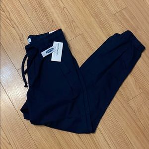 Old Navy Men's Pull-on Pants; Navy Blue, NWT